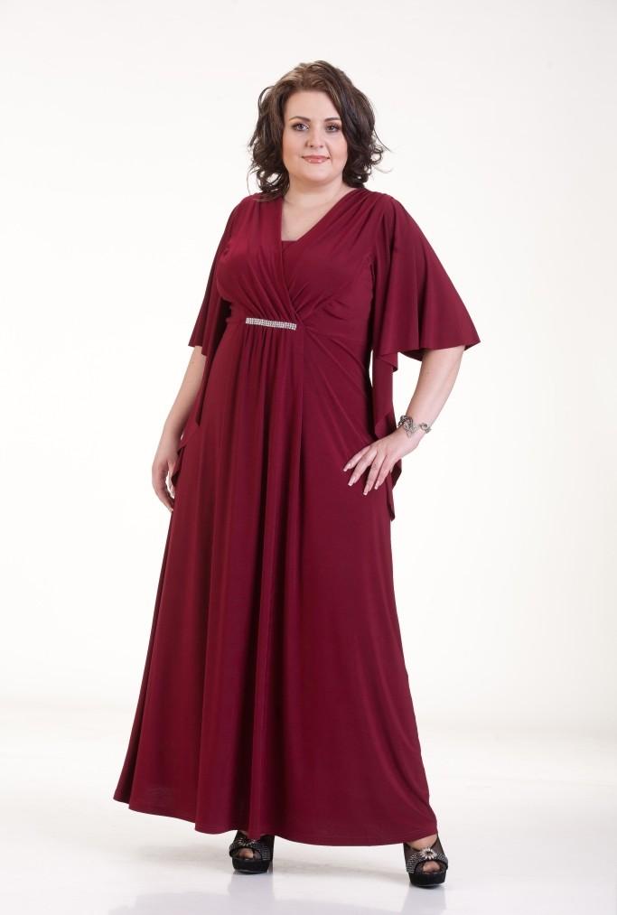 Длинное Платье Для Полных Женщин Купить