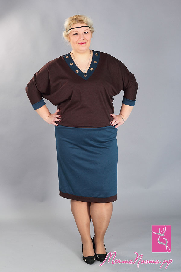 Женская Одежда Больших Размеров Франция Доставка