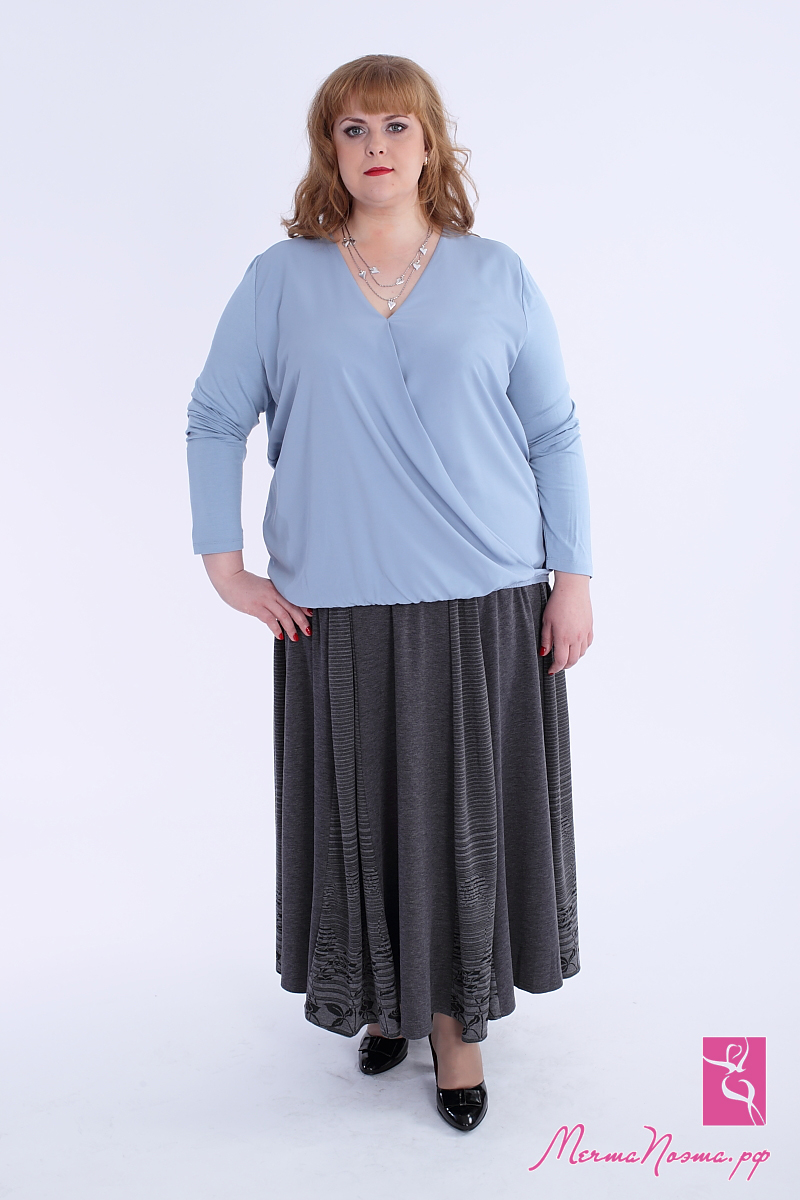 Юбка брюки больших размеров