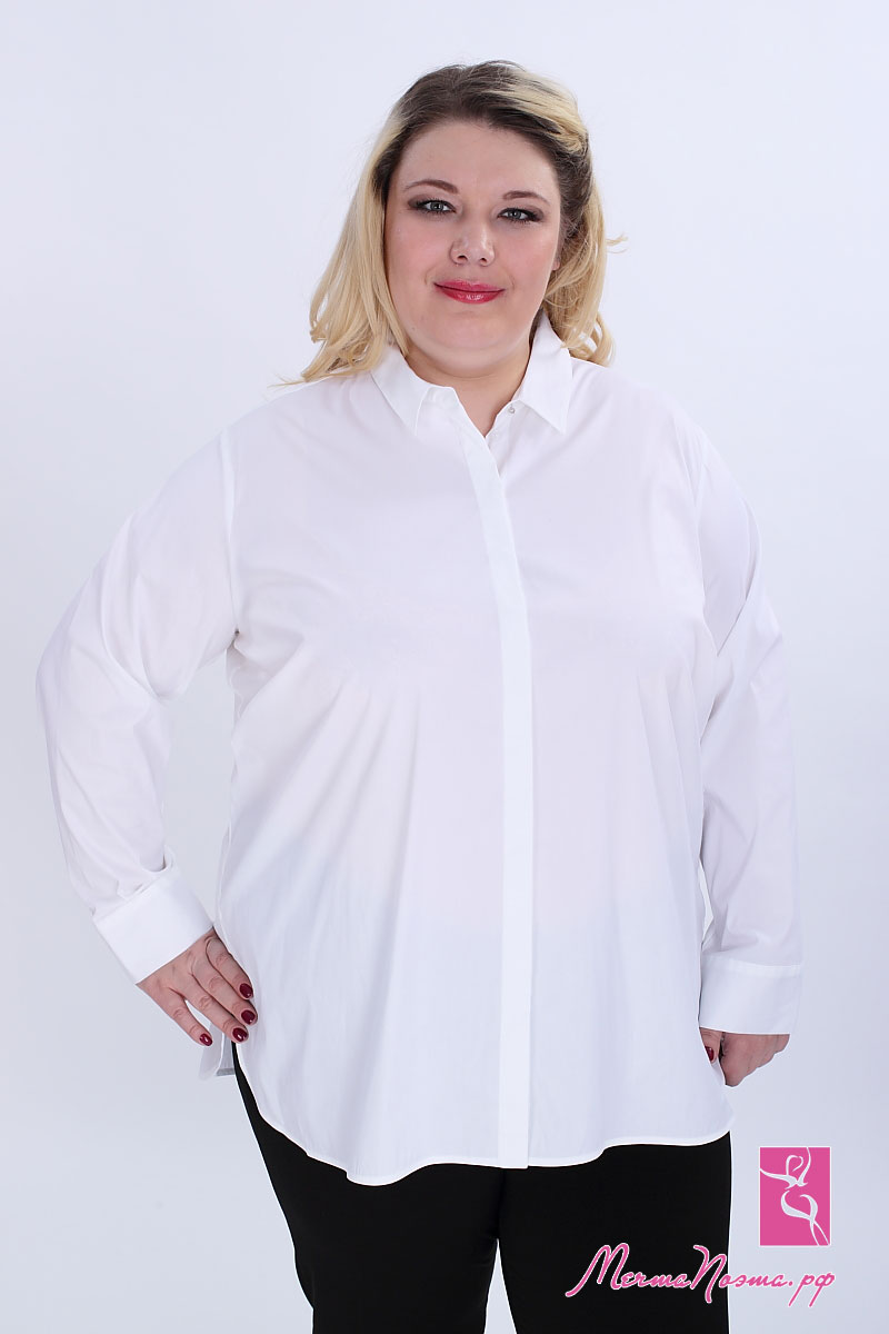 Где Купить Белую Блузку Больших Размеров