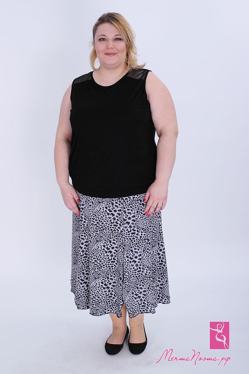Юбки больших размеров для женщин купить