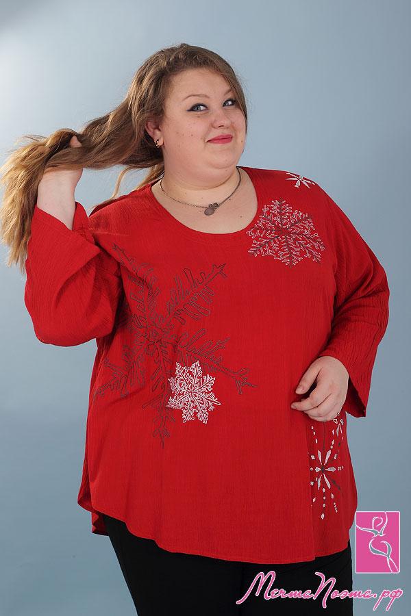 Цельнокройная Блузка
