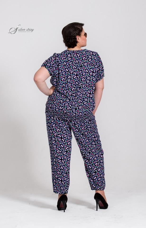 Мода большие размеры блузки из шелка классика для женщин за 40