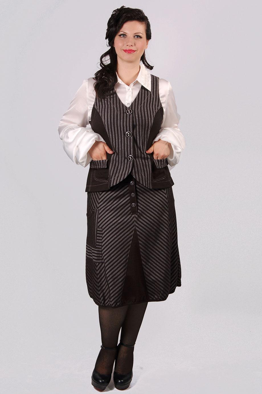 Магазины женские костюмы больших размеров в москве